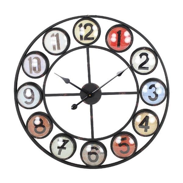 Nástěnné hodiny Iron Red, 68 cm