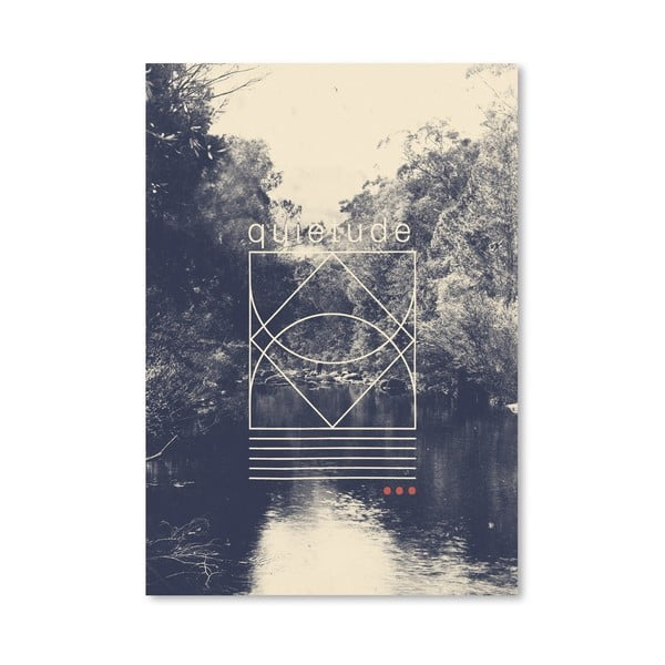 Plakát Quietude od Florenta Bodart, 30x42 cm
