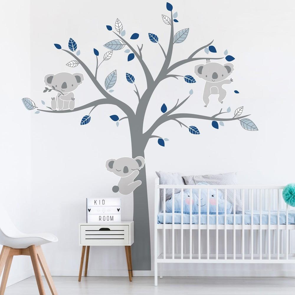 Dětské samolepky na zeď Ambiance Koala Cold