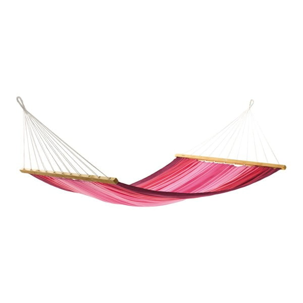 Houpací síť Aruba, pink striped