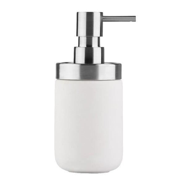 Dávkovač mýdla Chrome, bílý