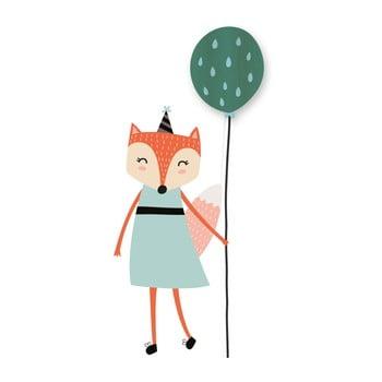 Lampă cu autocolant Little Nice Things Fox Lady