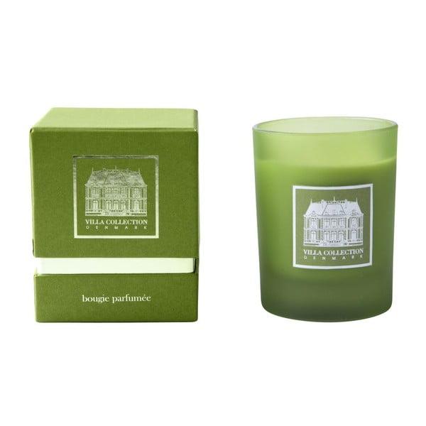 Svíčka s vůní zeleného čaje a okurky Villa Collection, 9 cm
