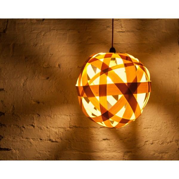 Ručně vyráběné světlo Clementine, jasan