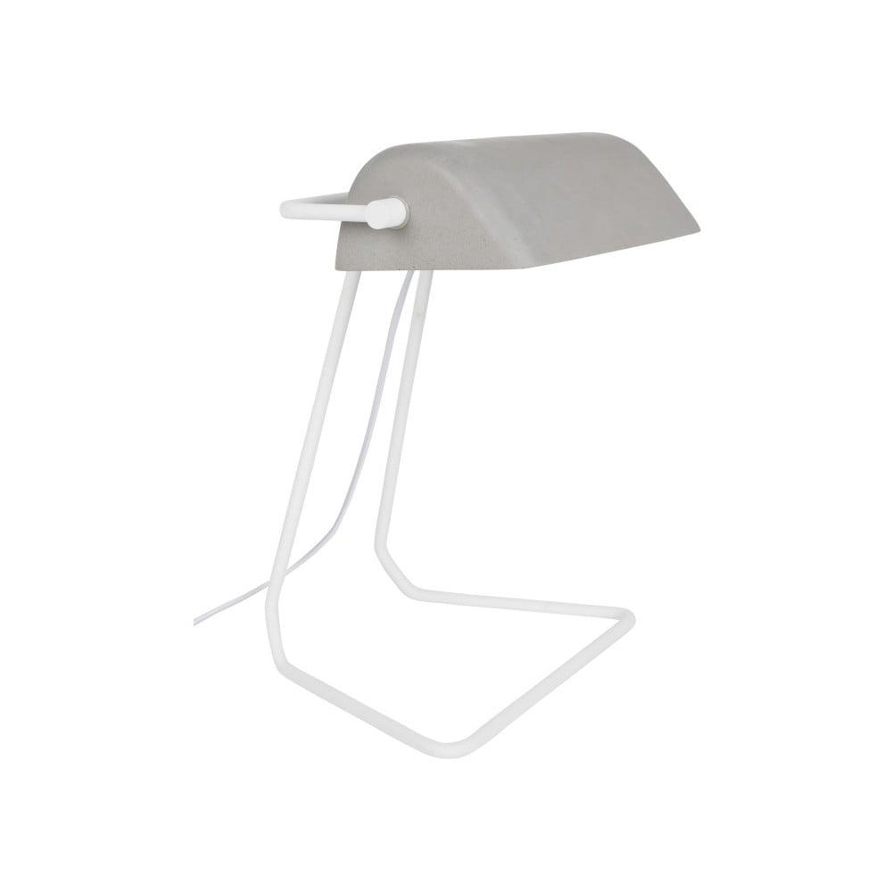 Šedá stolní lampa Zuiver Broker