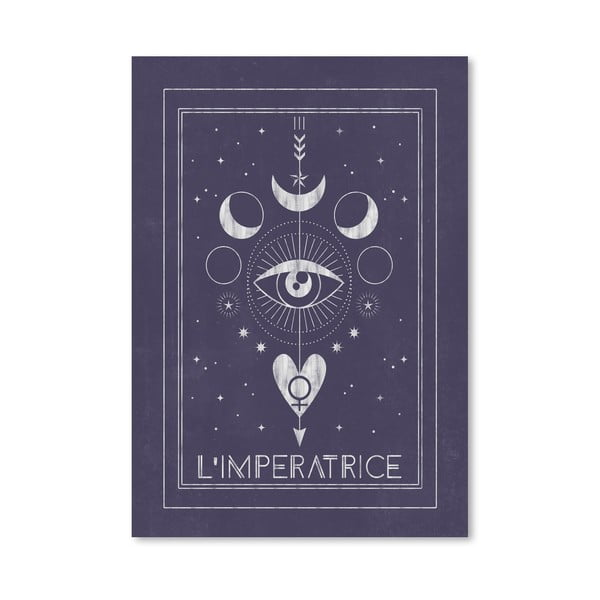Poster Americanflat L Imperatrice, 30 x 42 cm