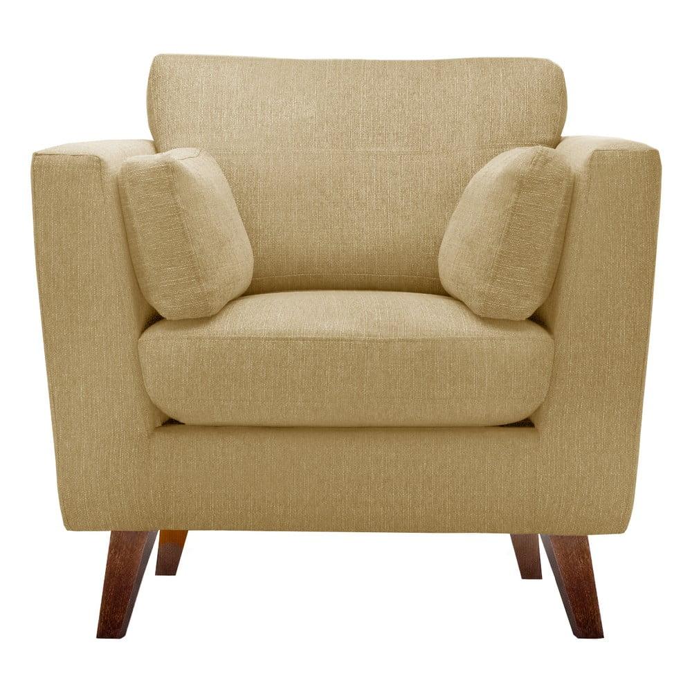 fotoliu jalouse maison elisa galben bonami. Black Bedroom Furniture Sets. Home Design Ideas