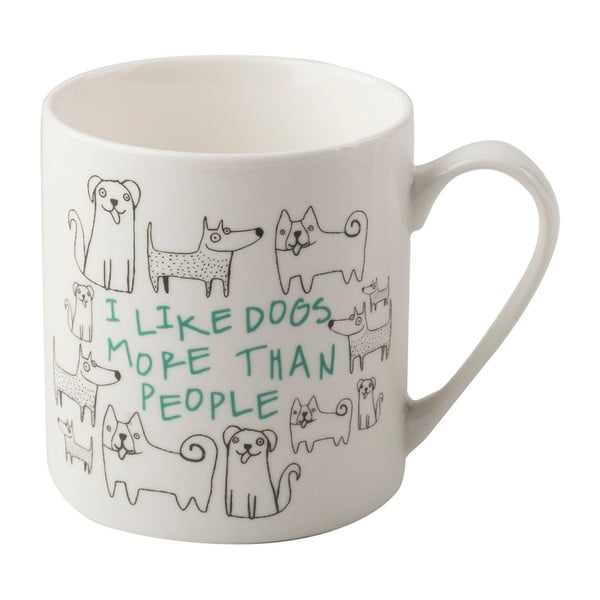 Porcelánový hrnek Creative Tops Dog, 300 ml