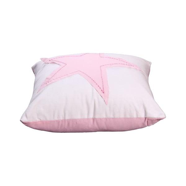 Povlak na polštář Estrella 40x40 cm, růžový