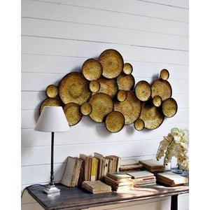Nástěnná dekorace Golden Circle, 120 cm