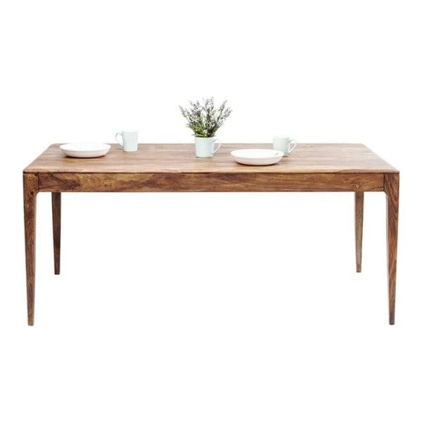 Jídelní stůl z masivního dřeva Kare Design Brooklyn, 200 x 200 cm