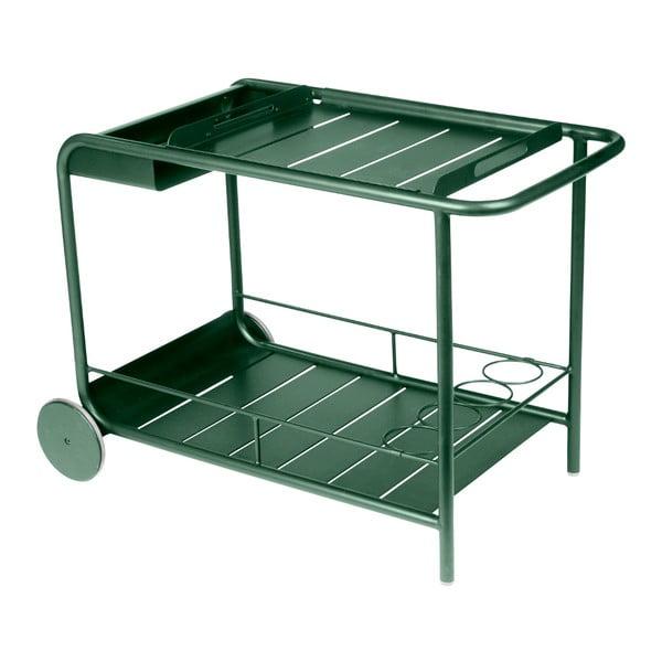 Zelený servírovací stolek Fermob Luxembourg