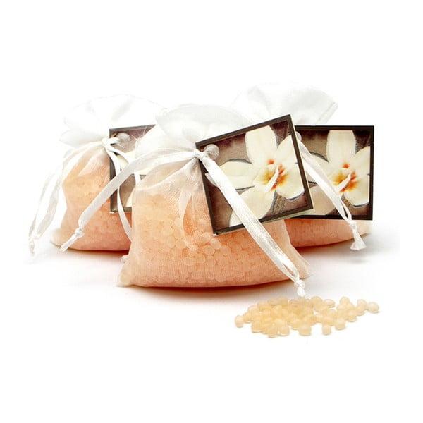 Săculeț parfumat din organza cu aromă de flori de vanilie Ego dekor