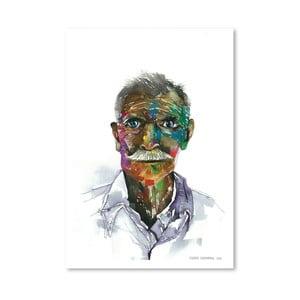 Plakát Rainbow Man, 30x42 cm