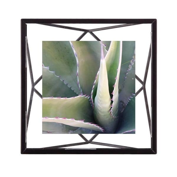 Černý rám na fotografii o rozměru 10 x 10 cm Umbra Prisma
