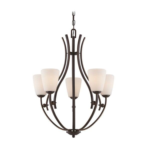 Závěsné světlo Chantilly Palladian Bronze