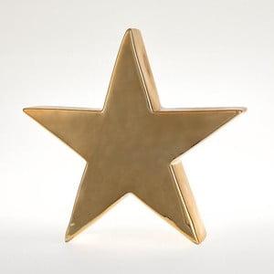 Svícen Star Deco Gold, 24x23 cm