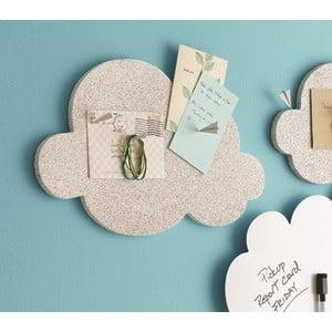 Nástěnka ve tvaru mraku Design Ideas Cloud, korková