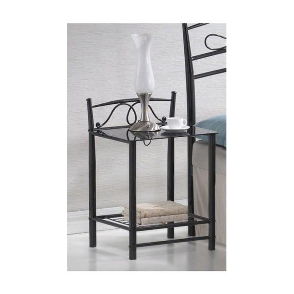 Noční stolek Antik Black