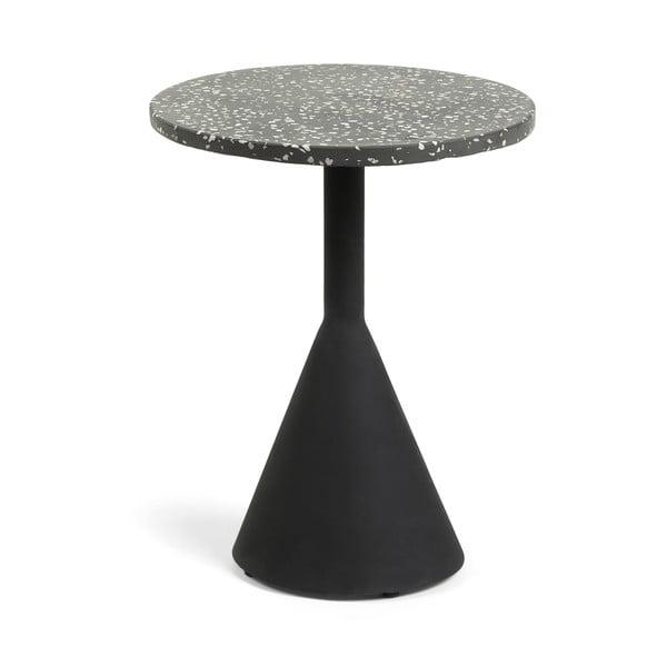 Czarny stolik La Forma Melano