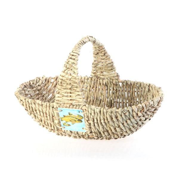 Proutěný košík Wicker Basket, 37 cm