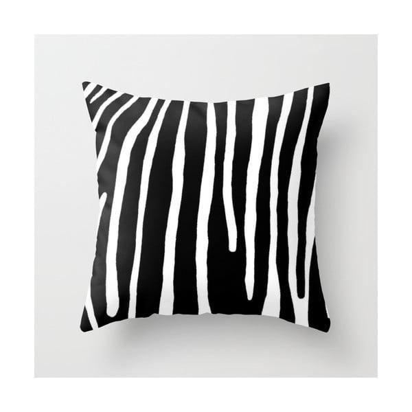 Povlak na polštář Zebra II, 45x45 cm