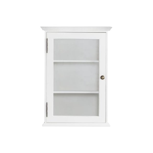 Nástěnná skříňka Charlston White, 42x61x22 cm