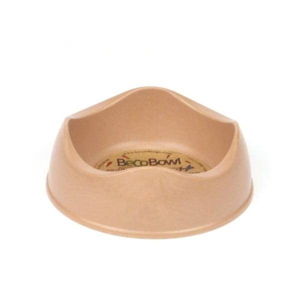 Psí/kočičí miska Beco Bowl 12 cm, hnědá