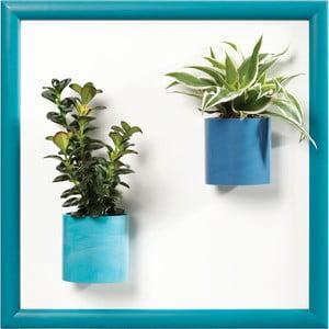 Magnetický obraz, modrý, 30x30 cm
