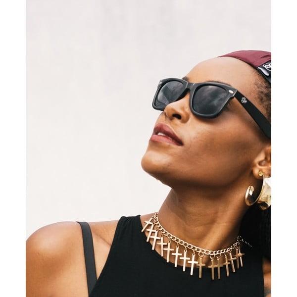 Černé sluneční brýle Cheapo Noway