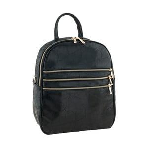 Černý kožený batoh Tina Panicucci Tera