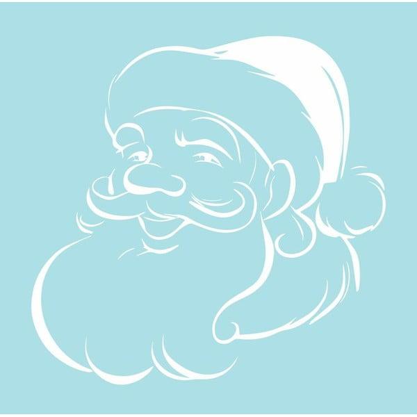 Samolepka White Santa Clause