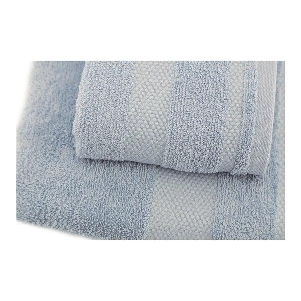 Sada 2 modrých ručníků Clio