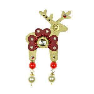 Zlatá brož Deers Bortalissimo,7cm