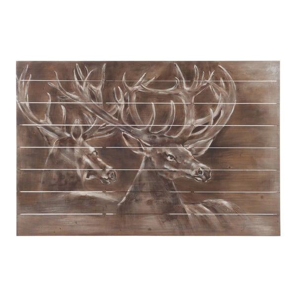 Nástěnná dekorace J-Line Deer Wood