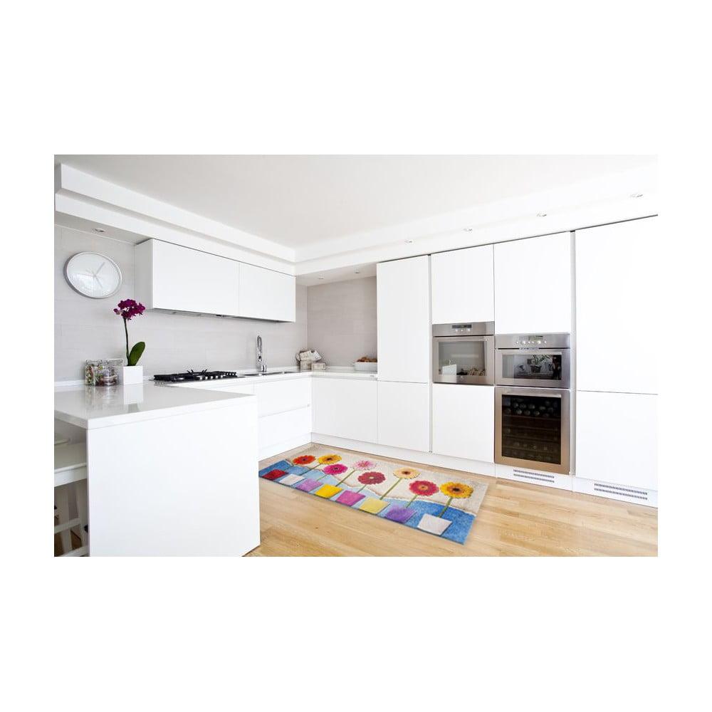 Vysoce odolný kuchyňský koberec Webtappeti Spring, 60 x 150 cm