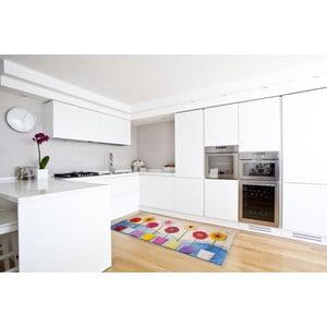 Vysoce odolný kuchyňský koberec Webtappeti Spring, 60x110 cm