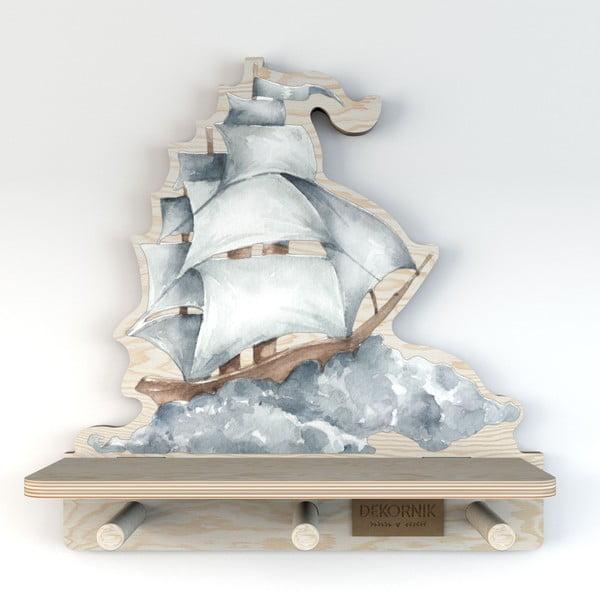 Raft de perete Dekornik, corabie