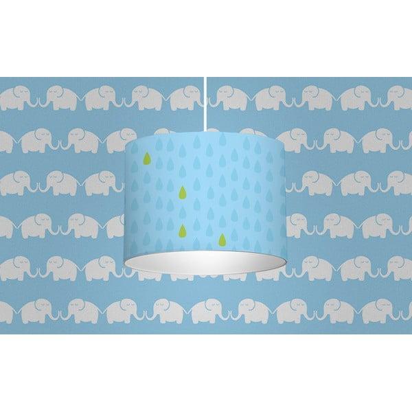 Svítidlo Elephants, modré