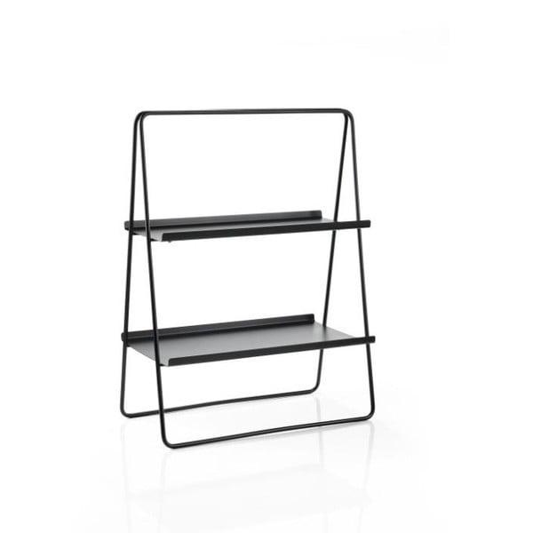 A-Table fekete acél polc - Zone