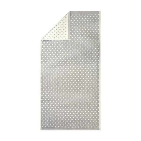 Ručník Nostalgie Grey Dots, 50x100 cm