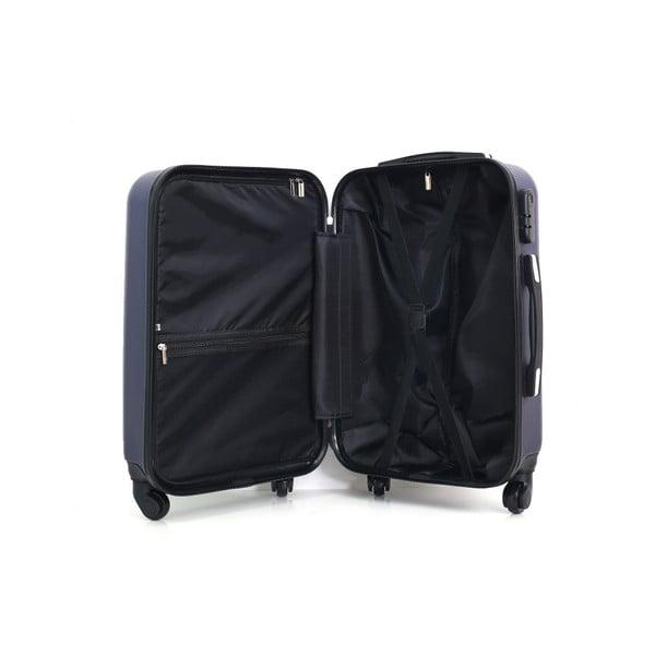Modrý kufr na kolečkách Hero Lipari, 60l