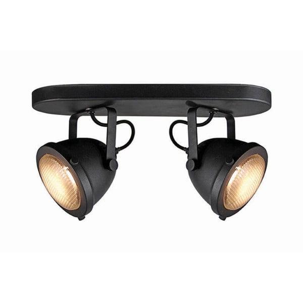 Černé nástěnné svítidlo LABEL51 Spot Moto Dos