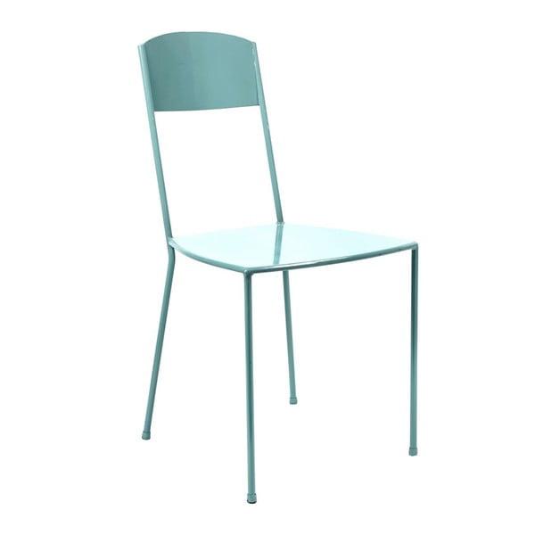 Světlemodrá židle Serax Adriana