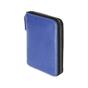 Modrá peněženka z italské kůže Tucano Sicuro