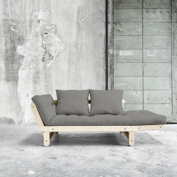 Rozkládací pohovka Karup Beat Natural/Granite Grey