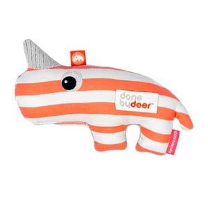 Oranžovo-bílá hračka Done by Deer Nozo