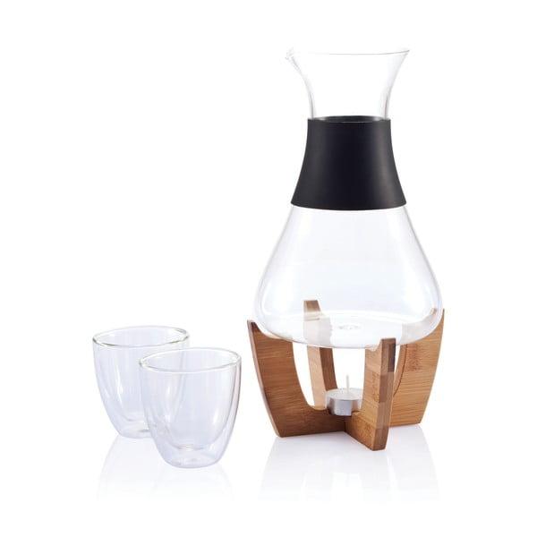 Forralt bor készítő szett poharakkal - XD Design