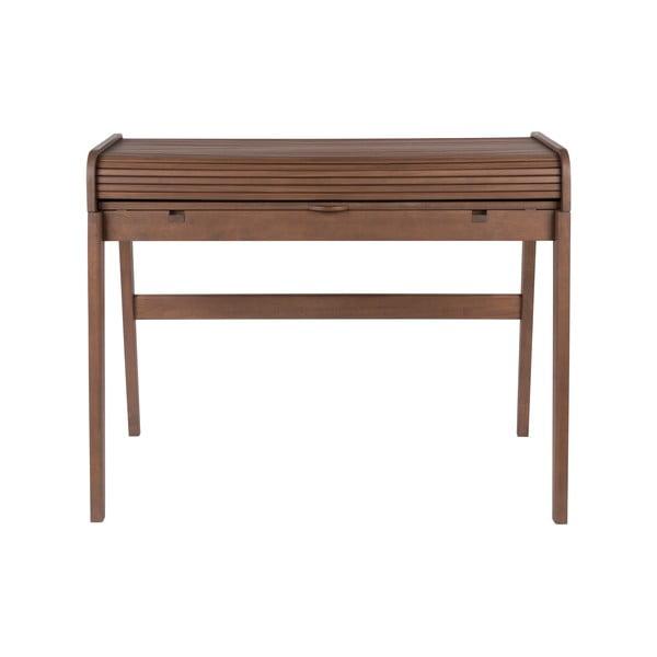Barbier barna íróasztal kihúzható asztallappal, hosszúság 110 cm - Zuiver