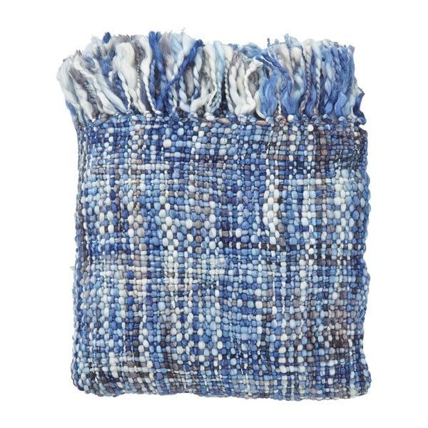 Pléd Bruno Blue, 130x180 cm